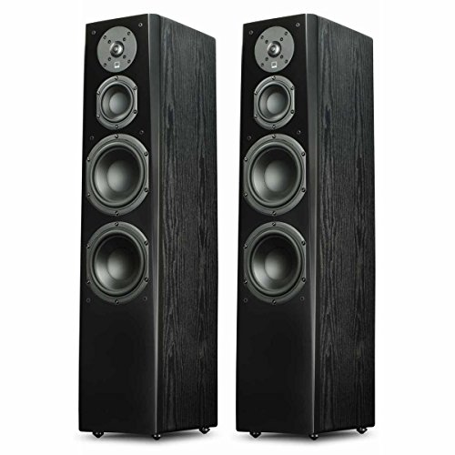 SVS Prime Tower Speaker (Black Ash Pair) by SVS