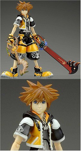 Kingdom Hearts 2: Action Figures - Master Form Sora by Square Enix