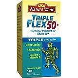 Nature Made Triple Flex 50+, Value Size 120 Caplets