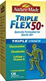 Cheap Nature Made TripleFlex Triple Strength 50+ Caplet (Glucosamine Chondroitin MSM) Value Size 120 ct
