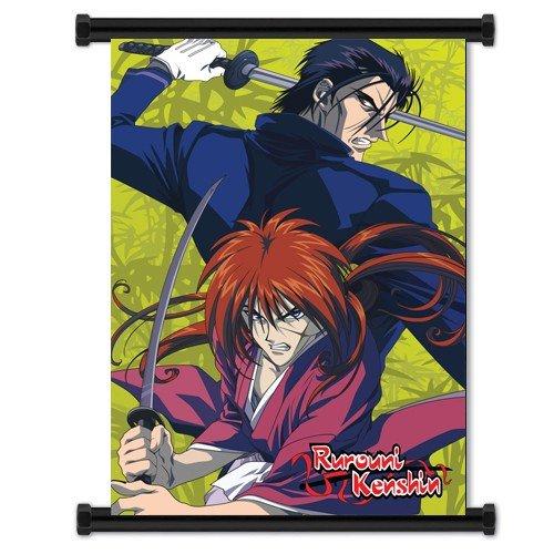 (Rurouni Kenshin Anime Fabric Wall Scroll Poster (32