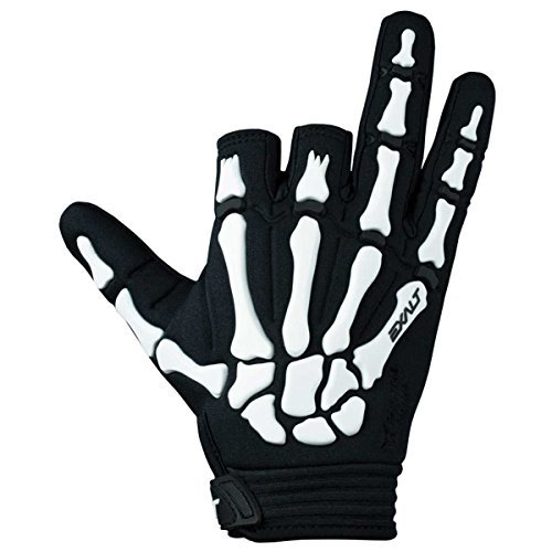Exalt Paintball Death Grip Glove - White - Large by Exalt