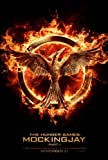 The HUNGER GAMES MOCKINGJAY PART 1 - JENNIFER LAWRENCE - Movie Poster - Double-Sided - 27x40 - Original - JENNIFER LAWRENCE - JOSH HUTCHERSON - ELIZABETH BANKS - ADVANCE
