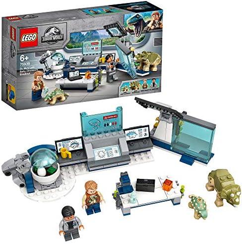 LEGO 75939 Jurassic World Dr Wus laboratorium Ontsnapping van de Babydinosaurussen Speelgoed met Owen Minifiguur