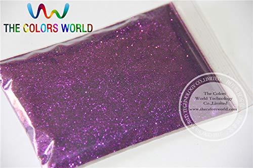 Kamas B0800 Purple Color Glitter powder -0.2MM glitter dust dazzling glitter powder,DIY Flash powder - (Color: 500g)