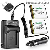 Kastar Battery and Charger Kit for Kodak EasyShare M753, EasyShare M763, EasyShare M853, EasyShare V550, EasyShare M320, EasyShare M340 Digital Camera