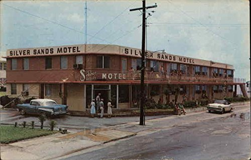 Silver Sands Motel Daytona Beach, Florida Original Vintage - Silver Sands Florida