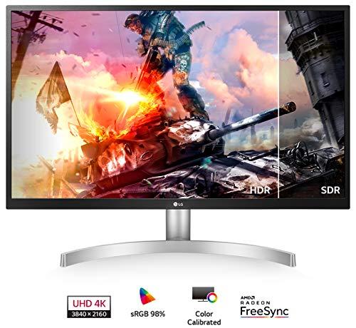 LG 27UL500-W 27-Inch UHD (3840 x 2160) IPS Monitor with Radeon Freesync Technology and HDR10