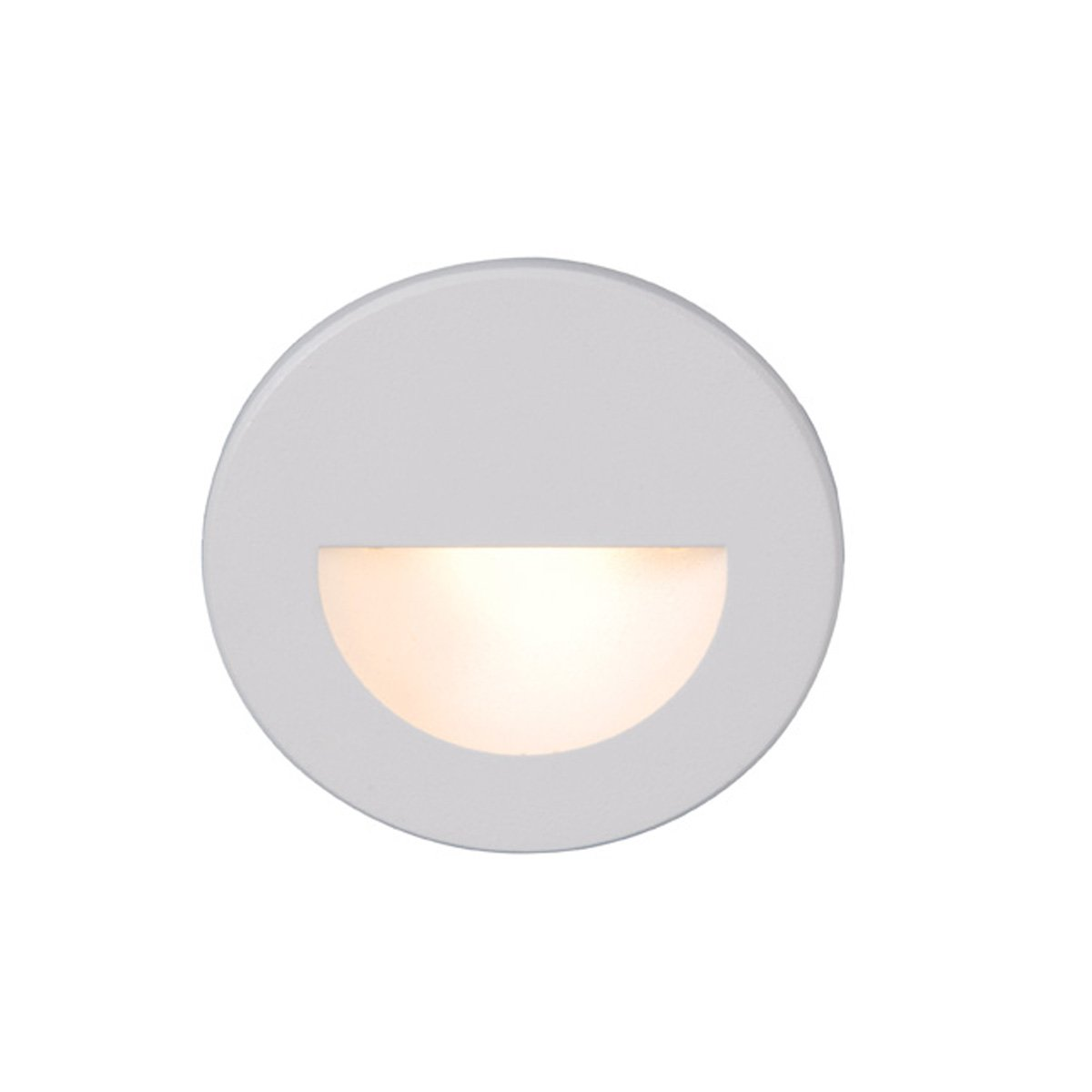 WAC Lighting WL-LED300-C-WT LED Step Light Circular Scoop by WAC Lighting