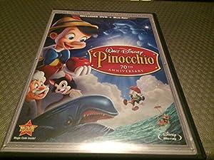 Amazon.com: Walt Disney Pinocchio 70th Anniversary ...  Pinocchio 70th Anniversary Edition Dvd