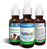 Boost Dog Immune System, Natural Cough Medicine & Immune Supplements For Dogs, Lifetime Warranty! 30ml Kennel Cough Or Illness, Dog immune Booster, No Side Effects! Made In USA By Pet Relief