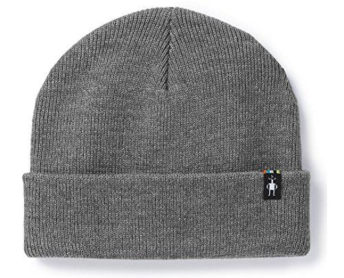 SmartWool Cozy Cabin Hat - Light Gray Heather/Medium Gray Heather