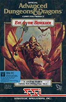 Official Advanced Dungeons & Dragons Computer Product, Eye of the Beholder.