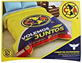 Premium Soccer Teams 100% Polyester Bed Blankets (Choose Size & Design) (71'' W x 87'' H Full Size, America)