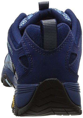 Para Mujer Gtx De Moab Azul poseidon Fst Zapatillas Senderismo Merrell xaE0A4qY0