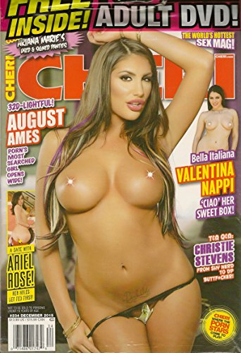 Cheri Adult Magazine - December 2015 - XXX DVD Included