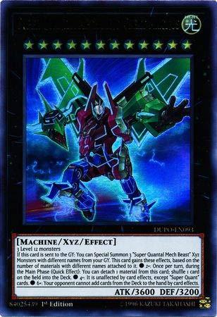 - Yu-Gi-Oh! - Super Quantal Mech King Great Magnus - DUPO-EN093 - Ultra Rare - 1st Edition - Duel Power