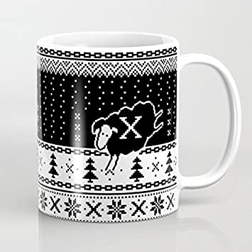 Qemingyer Navidad Regalos Taza de café de Navidad Mejores ...