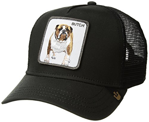 Goorin Bros. Men's Butch Animal Farm Trucker Cap, Black, One Size by Goorin Bros.