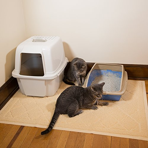 cat litter non tracking matrix