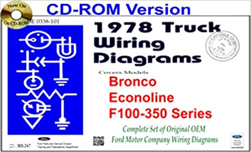Admirable 1978 Ford Trucks Pickups Vans Wiring Diagrams Covers F100 F150 Wiring Digital Resources Remcakbiperorg