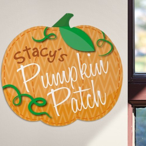 Personalized Pumpkin Patch Wall Sign, 11.5