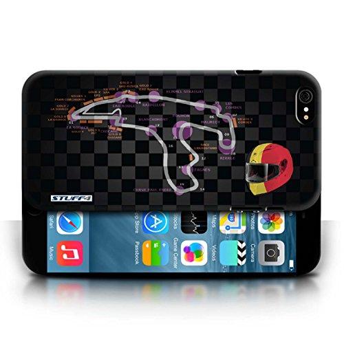 Etui / Coque pour Apple iPhone 6/6S / Belgique/Spa conception / Collection de 2014 F1 Piste
