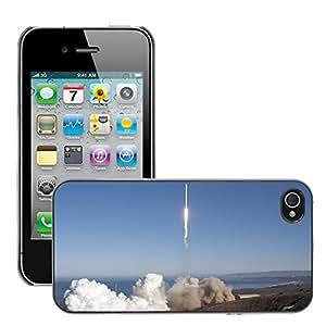 Print Motif Coque de protection Case Cover // M00291762 De lanzamiento de cohetes Spacex // Apple iPhone 4 4S 4G