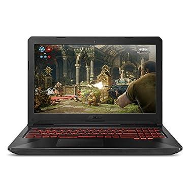 ASUS FX504GE-ES72 Thin & Light TUF Gaming Laptop (FX504) Full HD, 8th-Gen Intel Core i7-8750H, GTX 1050 Ti, 8GB DDR4, 256GB M.2 SSD, Gigabit WiFi, 15.6