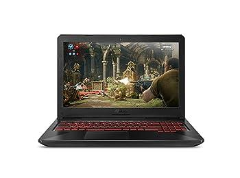 "ASUS TUF Gaming Laptop (FX504) 15.6"" Full HD, 8th-Gen Intel Core i5-8300H (up to 3.9GHz), NVIDIA GTX 1050 Ti, 8GB DDR4, 1TB FireCuda SSHD, Gigabit WiFi, FX504GE-US52"