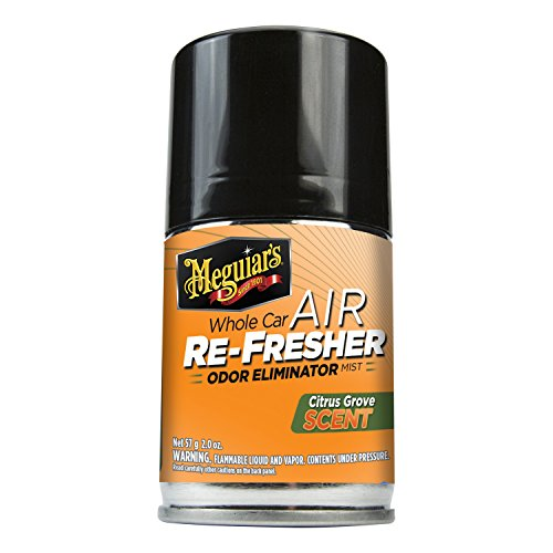 Meguiar's G16502 Whole Car Air Refresher Odor Eliminator (Citrus Grove Scent) - 2 (Grove Scent)