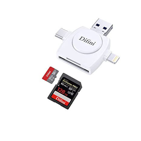 difini, lector de tarjetas Micro SD y TF tarjeta de memoria ...
