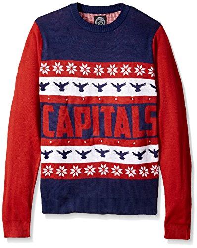 FOCO Washington Capitals One Too Many Light Up Sweater - Mens Medium by FOCO