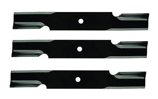 Oregon 91-637 - Cuchillas para cortacésped (3 Unidades, 45 ...