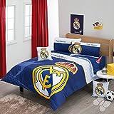 Comforter Spain Real Madrid Set 5 Piece Twin