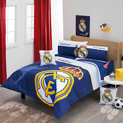 Comforter Spain Real Madrid Set 5 Piece Twin by Bedding Collection