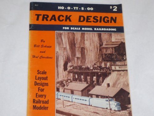 Track design for scale model railroading: Scale layout designs for every railroad modeler (Penn craft books)
