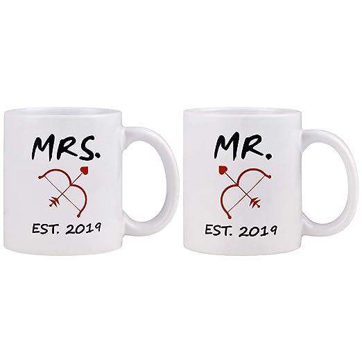 Taza de café, regalo de aniversario para marido, mejor ...