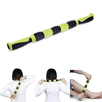 Amazon.com: Rodillos de yoga para músculos, masaje corporal ...