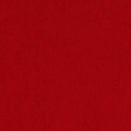Clothworks American Made Brand Solid Fabric, Red, Fabric By The Yard