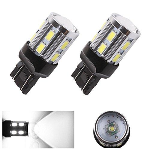 Price comparison product image S&D 2 X T20 Cree led Bulbs 7441 7440 7443 7444 992 - For car Brake Tail Light Reverse Signal Backup Bulbs - Xenon White