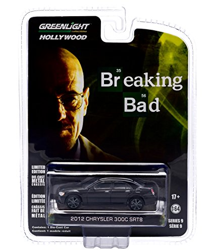Srt Chrysler (2012 CHRYSLER 300C SRT-8 from the hit television show BREAKING BAD GL Hollywood Series 9 2015 Greenlight Collectibles Limited Edition 1:64 Scale Die Cast Vehicle)
