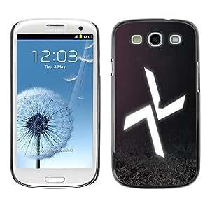 Be Good Phone Accessory // Dura Cáscara cubierta Protectora Caso Carcasa Funda de Protección para Samsung Galaxy S3 I9300 // Abstract X