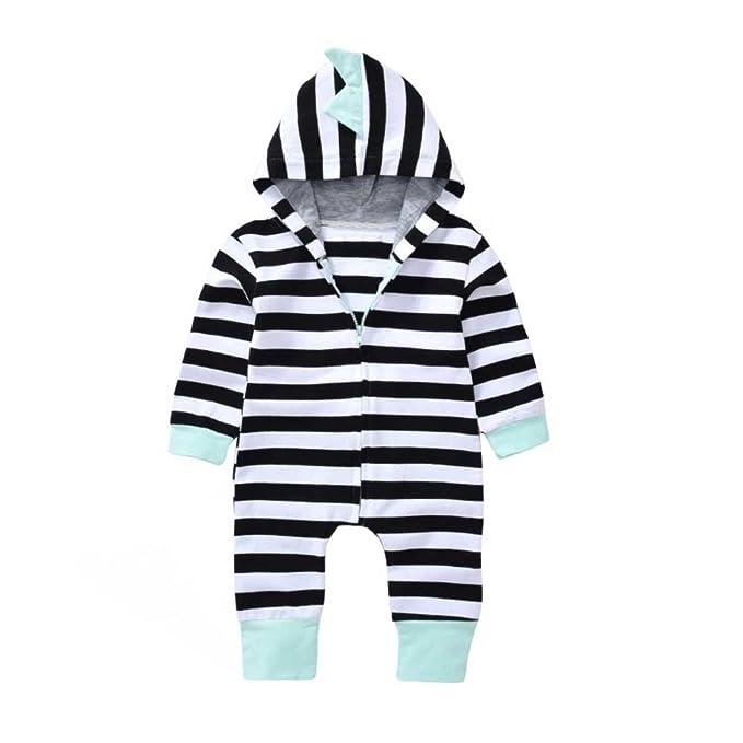 Gratisversand besser Kaufen Brightup Baby Jungen Streifen Kapuzenpullover Overall Frühling Herbst  Outfits Set Kleinkinder Kleidung 0-2 Jahre