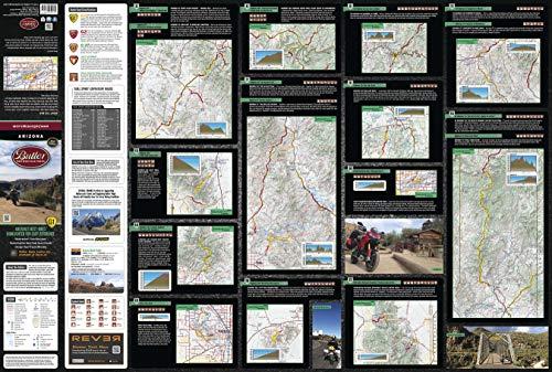 - Butler Maps Arizona Motorcycle Map