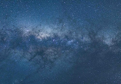 Home Comforts Framed Art for Your Wall Milky Way Night Sky Cosmos Stars Hd Wallpaper 10x13 Frame ()