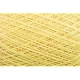 Häkelgarn 100 Gramm Baumwolle-Filet-Garn häkeln - Farbe gelb_120