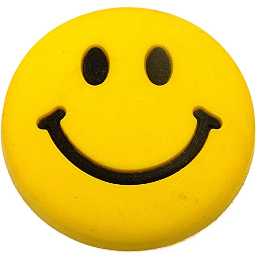 Smile Face Rubber Charm for Wristbands and Shoes