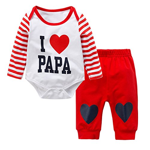 Baby Boys Girls Pajamas Clothes Kids 2Pcs Clothing Set - 7