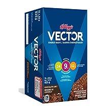 Kellogg's Vector Chocolate Chip Energy Bars, 15x55 gram, 825g box